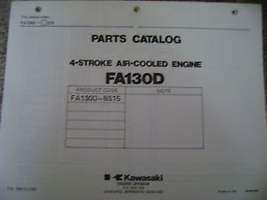Kawasaki Engine Illustrated Parts Catalog FA130 D BS15
