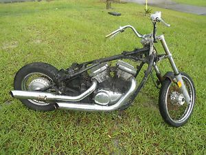 1995 Kawasaki Vulcan VN800 VN 800 Rolling Chassis Frame Wheel Engine Parts Bike