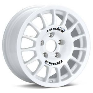 Details about 15 ENKEI RC G4 WHITE RIMS WHEELS 15x6.5 +30 5x114.3
