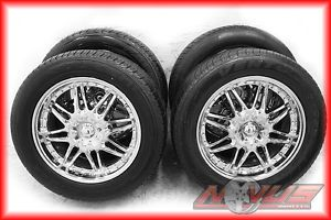 "20"" American Racing Chevy Tahoe Yukon Cadillac Chrome Wheels Tires 22 24 6x139 7"