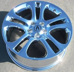 "4 19"" Factory Acura RDX Chrome Wheels Rims MDX TL CL Accord Pilot TSX 71758"