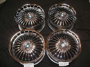 Beyern Multi 19 inch Chrome Alloy Wheels 8 5 ET15 9 5 ET30 5x120 BMW 7 Series