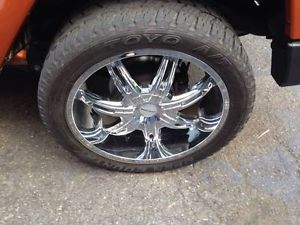 "22"" inch 5 KMC Surge 655 Rims and 6 Toyo Open Country A T Tires"