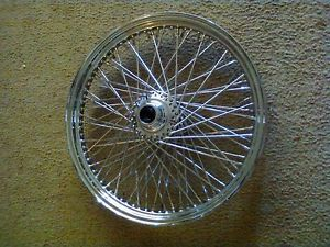 "HD Harley Davidson 21"" 80 Spoke Chrome Front Wheel"