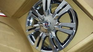 18 inch Chrome Wheels Cadillac SRX 2010 2013
