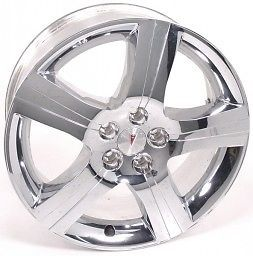 "2011 18"" Chevy Malibu Chrome Wheel Rim Brand New Cladded Chrome Wheel"