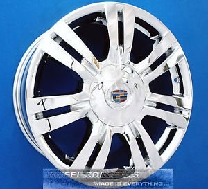 "Cadillac SRX 18 inch Chrome Wheel Exchange 4664 4665 18"" Rims"