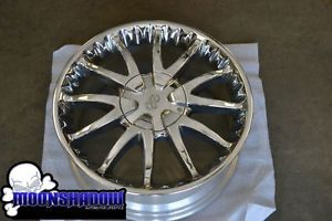"RARE 17"" Enkei Wheels Multi Spoke Chrome Wheel Rim 17x7 5 4x100 4x114 3"