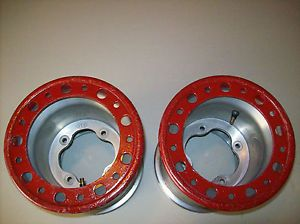 ITP Baja Rear Wheels Rims for Yamaha YFZ 450 Banshee Raptor Warrior