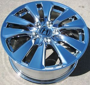 "Exchange Your Stock 4 17"" Factory Honda Accord Chrome Wheels Rims 2011 14 64015"