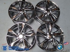 "Four 2013 Nissan Altima Factory 17"" Chrome Wheels Rims 62593 Maxima Juke"