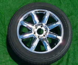 New GM Factory Style GMC Yukon Sierra Denali Chrome 20 inch Wheel Tire 5304