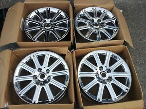 Genuine Original Factory Chrysler Aspen 20 inch Chrome Wheels Rims Wheel