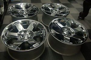 "20"" Dodge RAM 1500 Laramie Big Horn Factory Chrome Wheels Rims 2013 2012"