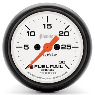 Auto Meter 5786 Phantom Fuel Rail Pressure Gauge