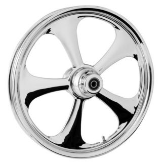 "RC Components Nitro Chrome 21"" ft Wheel Tire Package Harley Touring 2000 2007"
