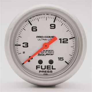 Auto Meter 4411 Ultra Lite Mechanical Fuel Pressure Gauge