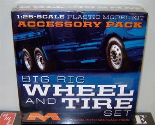 Moebius 1010 Truck Wheels Tires 10 Big Rig Accessories Factory SEALED in Stock