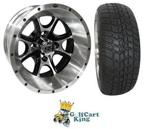 "ITP SS108 Low Profile Golf Cart 12"" Wheel Tire Combo"