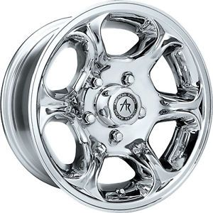 American Racing Python Chrome Rims Wheels 15x8 19 5x114 3