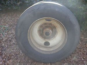 Yokohama RY587 Super Steel 11R24 5 Tires Rims Semi Truck Trailer Tires