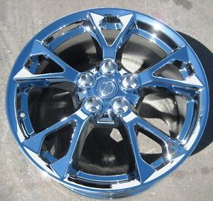 "Exchange Your Stock 4 18"" Factory Nissan Maxima Chrome Wheels Rims 2012 13"
