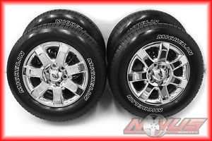 "2013 18"" Ford F150 FX4 Expedition Chrome Wheels Factory Rims Tires 17 20"