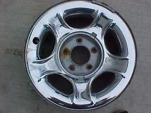 "2000 Ford Steel Chrome Wheel 17"" Hollander 3329"