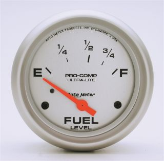 Auto Meter 4415 Ultra Lite Electric Fuel Level Gauge