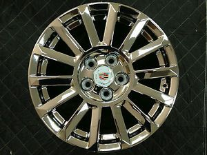 "Set of 4 New Chrome Cadillac cts 17"" Factory Wheels Rims 4668"