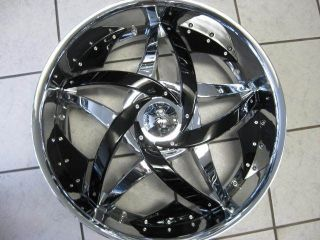 "24"" Hipnotic C Note Wheels and Tires asanti Forgiato Dub Giovanna 22 26 Lexani"