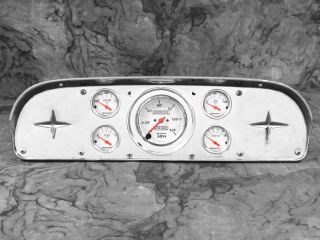 57 58 59 60 Ford Truck Gauge Adapter Panel Dash Insert Instrument Cluster F100