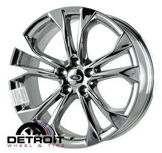 "19"" Ford Taurus PVD Chrome Wheels Rims Tires Factory Wheels 3924 X4"