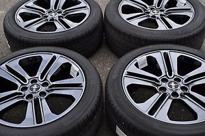 Mustang Black Rims Tires