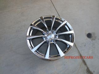 "Factory Infiniti G37 s 19"" New Chrome Wheels Rims"