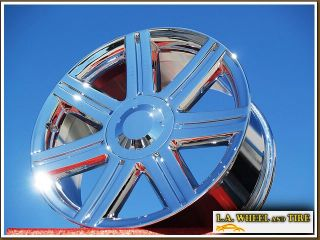 "4 New 18"" 19"" Chrysler Crossfire Chrome Wheels Rims"