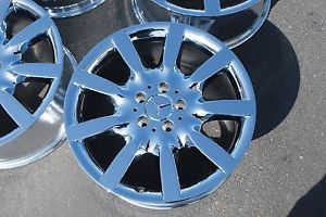"Mercedes Benz S550 S600 s Calss 18"" 2007 2008 Chrome Wheels Rims Outright Sale"