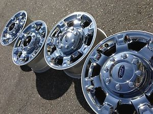 18 Ford F250 F350 SD Powerstroke Ranch FX4 Factory Stock Chrome Wheels Rims