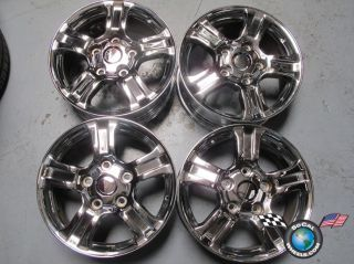 "07 11 Toyota Tundra Chrome Factory 18"" Wheels Rims 69517 Sequoia"