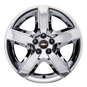 "2008 2012 Chevrolet Malibu Wheel Cover 17"" Chrome 19166165 Genuin GM"