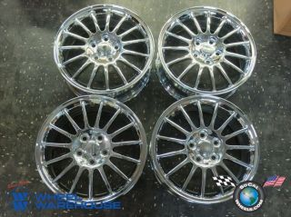 Four 03 05 Chrysler Sebring Factory 17 Chrome Wheels Rims 2208 Outright Sale