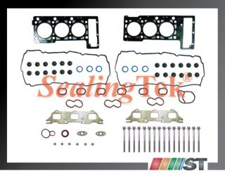 01 09 Chrysler 2 7 V6 DOHC MLS Head Gasket Set w Bolts Kit 167 EER Engine Parts