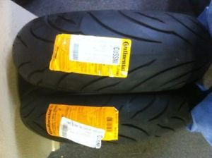 Continental Conti Motion Tire Set 00 09 Suzuki GSXR 750
