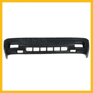 88 92 Toyota Corolla Front Bumper Cover TO1000112 Raw Black Wo Primred 2WD 4 5DR