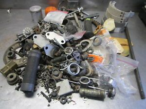 Harley Davidson Aermacchi AMF Huge Parts Lot Nuts Bolts Misc Great Look