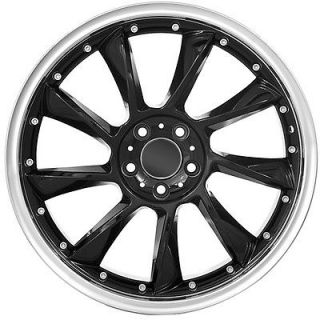 18 Mercedes Benz Rims Black
