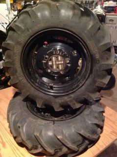 6 12 BF Goodrich Silvertown Power Grip Tractor Tires Off Wheel Horse Tractor