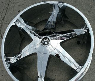 DUB BIG HOMIE 3 26 CHROME RIMS WHEELS ESCALADE 07 up 26 X 9 5 6H 30