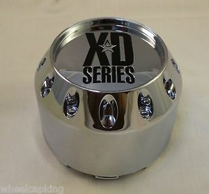 XD Series Wheels Chrome Custom Wheel Center Cap Caps 905K98 New