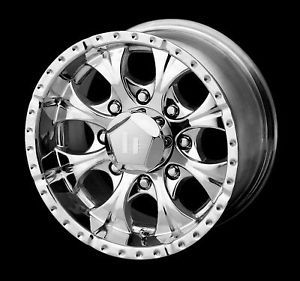 16 x8 Helo HE791 Maxx Chrome Wheels Rims 5 6 8 Lug